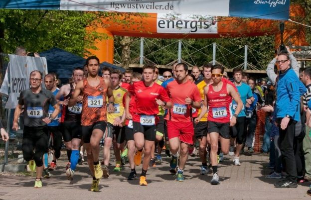Start zum Illinger City-Lauf